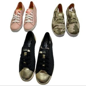 Keds Women's Shoes Lot Of 3 Pairs Size 6